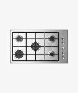 Gas on Steel Cooktop, 90cm
