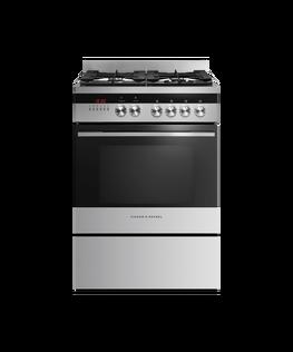 Freestanding Cooker, Dual Fuel, 60cm, 4 Burners