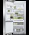 Freestanding Refrigerator Freezer, 68cm, 413L gallery image 2.0