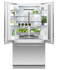 Integrated French Door Refrigerator Freezer, 90cm gallery image 4.0