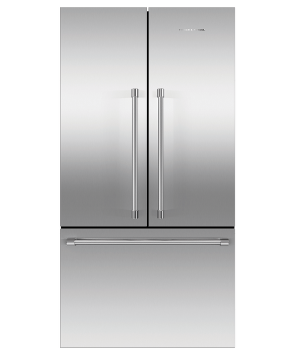 "Freestanding French Door Refrigerator Freezer, 36"", 20.1 cu ft, Ice, pdp"
