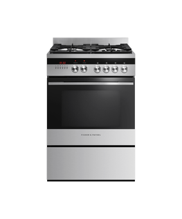 Freestanding Cooker, Dual Fuel, 60cm, 4 Burners
