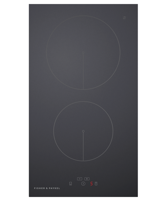 Induction Cooktop, 30cm, 2 Zones, pdp