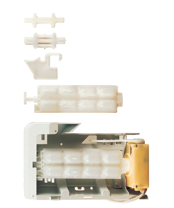 ICEMAKER & TRAY ASSY, pdp