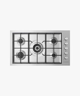 Gas on Steel Hob, 90cm, Flush Fit