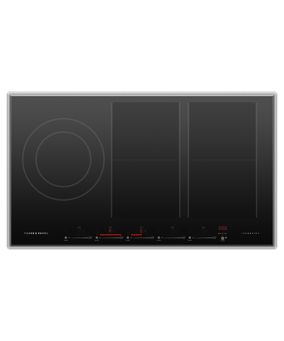 """Induction Cooktop, 36"""", 5 Zones with SmartZone, pdp"""