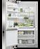 Freestanding Refrigerator Freezer, 79cm, 519L gallery image 2.0