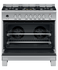 Freestanding Cooker, Dual Fuel, 90cm, 5 Burners, Self-cleaning gallery image 3.0