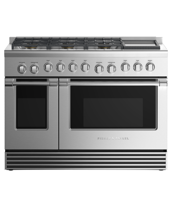 """Gas Range 48"""", 6 Burners with Griddle, pdp"""