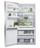 Freestanding Refrigerator Freezer, 79cm, 494L, Ice & Water gallery image 2.0