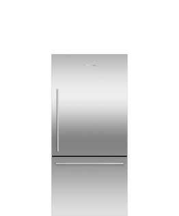 Freestanding Refrigerator Freezer, 79cm, 445L