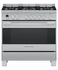 Freestanding Cooker, Dual Fuel, 90cm, Self-cleaning gallery image 1.0