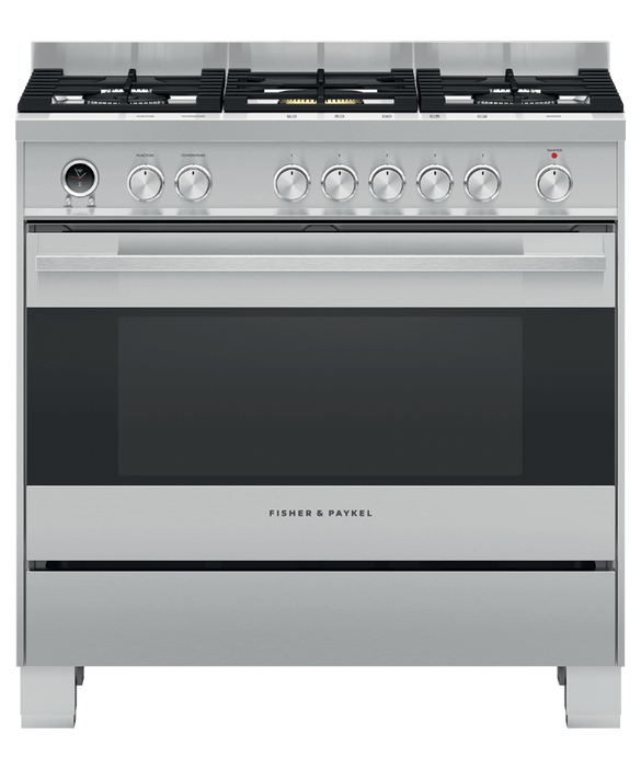 Freestanding Cooker, Dual Fuel, 90cm, Self-cleaning, pdp