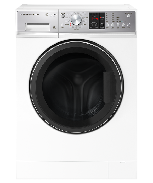 Front Loader Washing Machine, 8kg with Steam Refresh, pdp