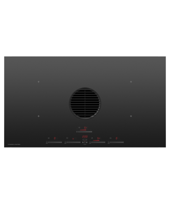 """Induction Cooktop, 36"""", 4 Zones with Integrated Ventilation, pdp"""