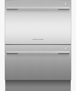 Double DishDrawer™ Dishwasher, Sanitise