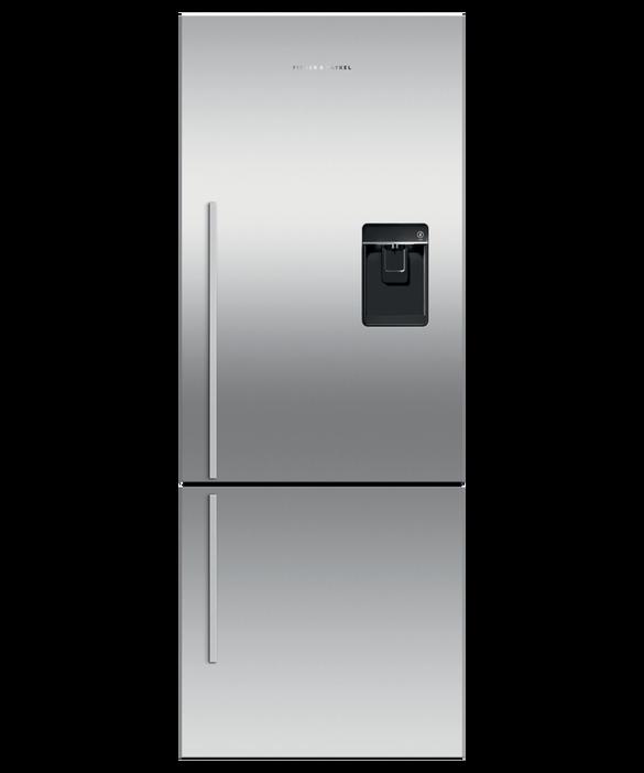 Freestanding Refrigerator Freezer, 63.5cm, 403L, Ice & Water, pdp
