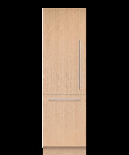 Integrated Refrigerator Freezer, 61cm, Ice & Water