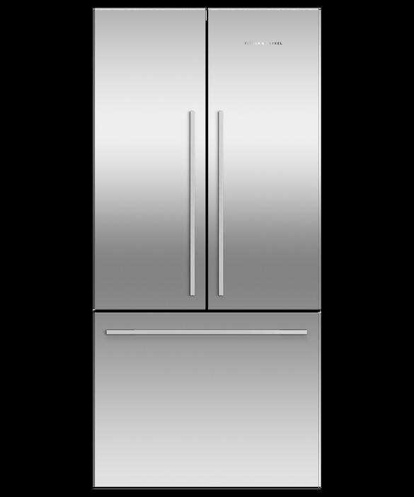 """Freestanding French Door Refrigerator Freezer, 32"""", 17 cu ft, pdp"""