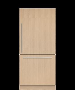 Integrated Refrigerator Freezer, 90.6cm, Ice