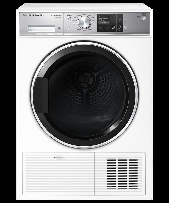Heat Pump Condensing Dryer, 9kg, Steam Care, pdp