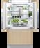 Integrated French Door Refrigerator Freezer, 90cm gallery image 2.0