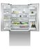 Freestanding French Door Refrigerator Freezer, 90cm, 614L gallery image 2.0