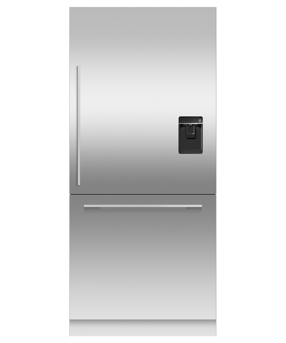 Integrated Refrigerator Freezer, 90.6cm, Ice & Water, pdp
