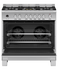 Freestanding Cooker, Dual Fuel, 90cm, 5 Burners, Self-cleaning gallery image 2.0