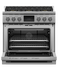 "Dual Fuel Range, 36"", 6 Burners, Self-cleaning gallery image 3.0"