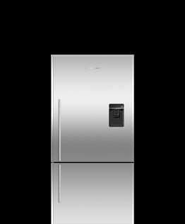Freestanding Refrigerator Freezer, 79cm, 494L, Ice & Water