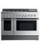 "Dual Fuel Range, 48"", 6 Burners with Griddle, LPG gallery image 1.0"