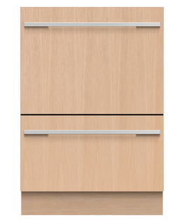 Integrated Double DishDrawer™ Dishwasher, Tall, Sanitise