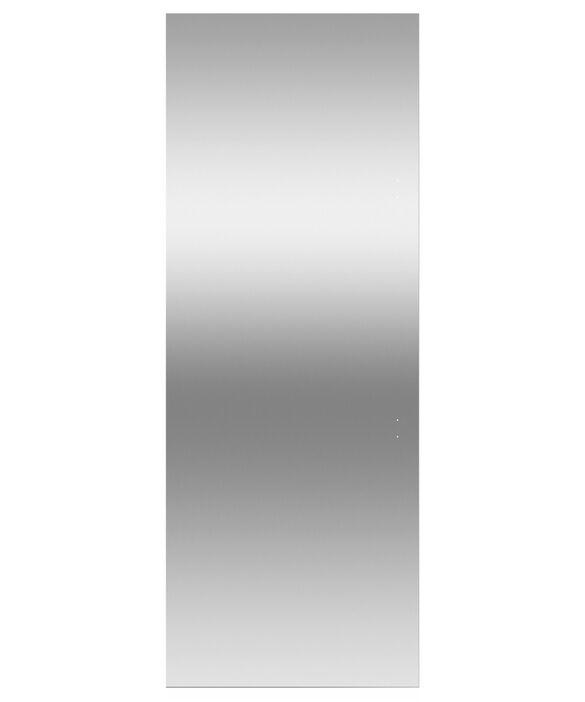 "Door panel for Integrated Column Refrigerator or Freezer, 30"", Left Hinge, pdp"