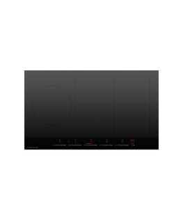 Induction Cooktop, 90cm, 5 Zones, with SmartZone
