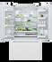 Freestanding French Door Refrigerator Freezer, 90cm, 569L gallery image 3.0
