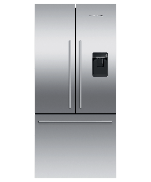 "Freestanding French Door Refrigerator Freezer, 32"", 17 cu ft, Ice & Water, pdp"