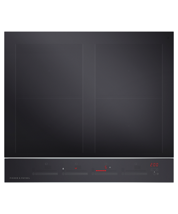"Induction Cooktop, 24"", 4 Zones with SmartZone, pdp"