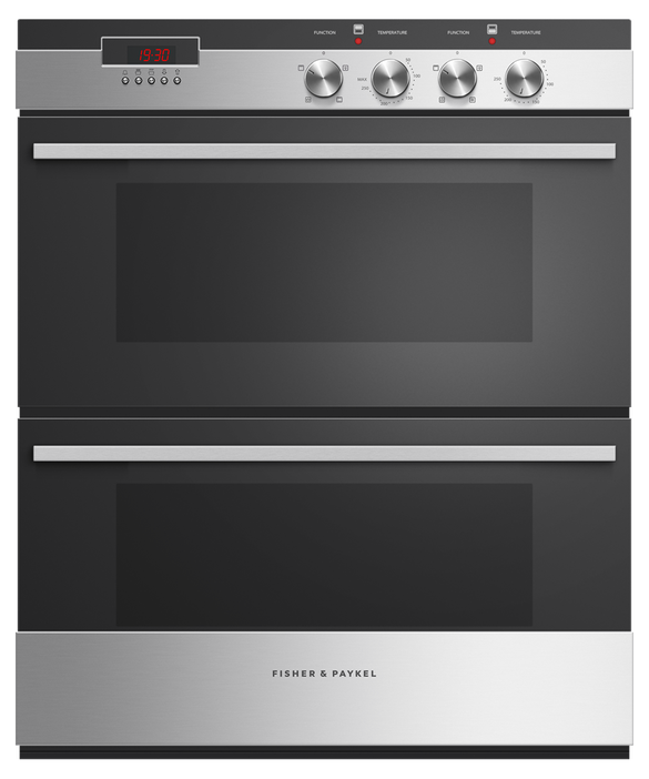 Double Oven, 60cm, 4 Function, 104L, pdp