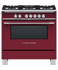 "Gas Range, 36"", 5 Burners gallery image 1.0"