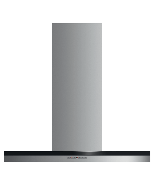 "Wall Range Hood, 36"", Box Chimney, pdp"