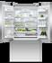 Freestanding French Door Refrigerator Freezer, 90cm, 541L, Ice & Water gallery image 2.0
