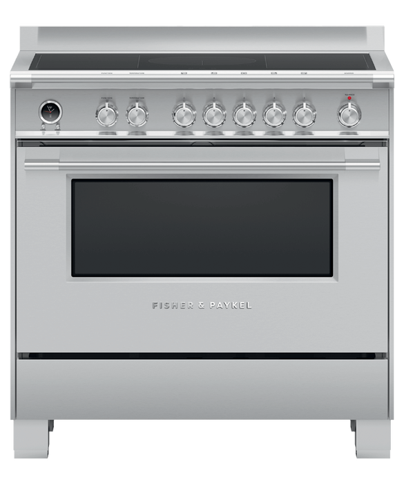 Freestanding Cooker, Induction, 90cm, 4 Zones with SmartZone, Self-cleaning, pdp