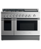 "Gas Range, 48"", 5 Burners with Griddle gallery image 1.0"