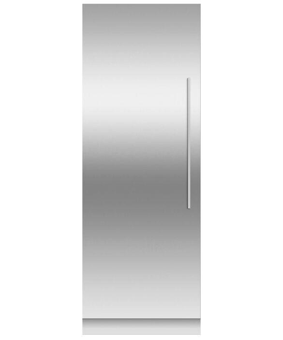 Door panel for Integrated Column Refrigerator or Freezer, 76cm, Left Hinge, pdp