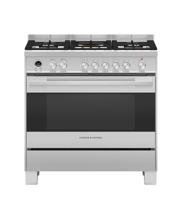 Freestanding Cooker, Dual Fuel, 90cm, Self-cleaning