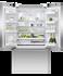 Freestanding French Door Refrigerator Freezer, 90cm, 569L, Ice gallery image 2.0
