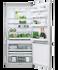 "Freestanding Refrigerator Freezer, 32"", 17.5 cu ft, Ice & Water gallery image 3.0"