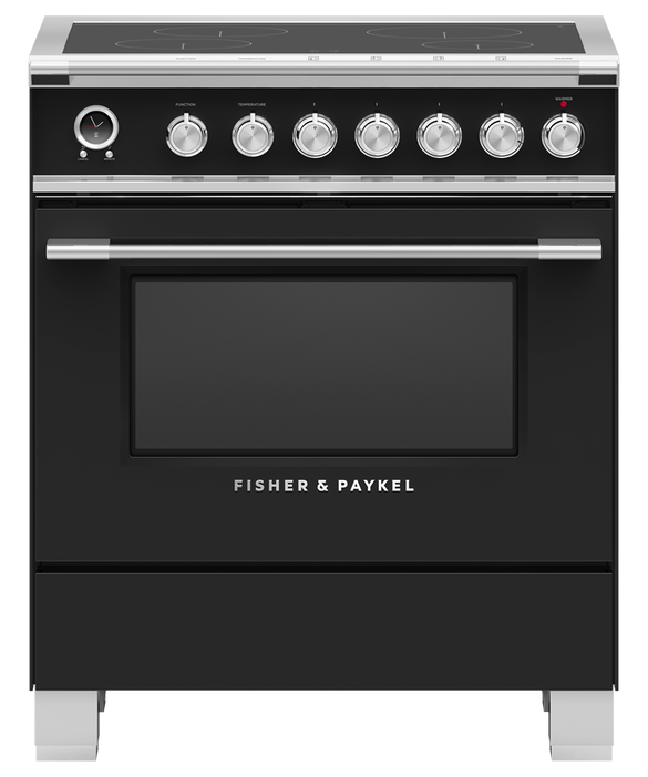 "Induction Range, 30"", 4 Zones, Self-cleaning, pdp"