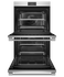 "Double Oven, 30"", 8.2 cu ft, 17 Function, Self-cleaning gallery image 2.0"